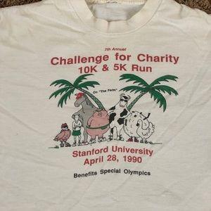 🔥1990 Stanford Charity Run Shirt🔥